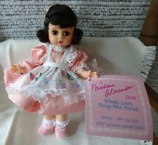 Madame Alexander 8 in doll - 1993 MADC - Wendy Loves Being Best Friends