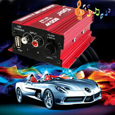 Mini Hi-Fi 500W 2 Channel Stereo Audio Amplifier Subwoofer for Car Motorcycle