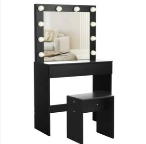 HollywoodDressing Table - Hollywood Inspired Black