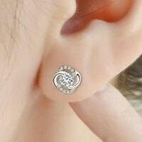 925 Sterling Silver Stud Earrings Small Earrings Ear Buckle Ladies Temperament