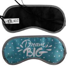 6 Stk. Schlafmaske Schlafbrille Augenmaske Einhorn Sterne Schriftzug Mond Wolken