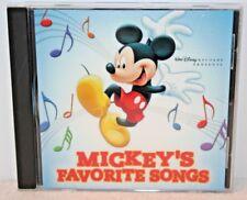 Mickey's Favorite Songs CD Huggies PROMO Walt Disney Records No Bar Code