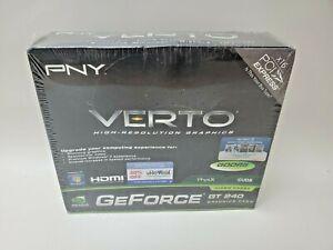 NVIDIA PNY TechnologiesGeForce GT 240 1024MB GDDR3 GPU Graphics Card PCIe 16X