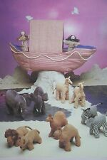 Noah's Ark and Animals Toy Sewing Pattern (PN028)