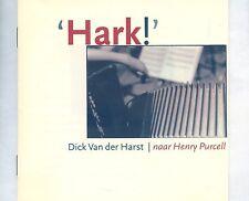 CD DICK VAN DER HARST hark BELGIUM EX Baroque, Post-Modern, Folk 1995