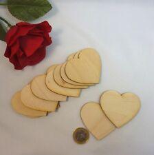 holzherzen Corazón Natural Madera Boda, tarjeta de Mesa decoración NHS