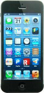 Apple iPhone 5 16GB Negro Grado A++ Come Nuevo Usado Reacondicionado ES.122