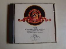 THOSE MAGNIFICENT MGM MUSICALS, Volume 2, 1952-1971 - CD one - EMI 1990 compil
