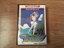 Namco Classic Golf Famicom Nintendo NAMCOT NTSC-J Japan Import