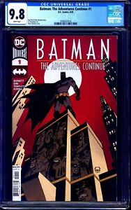 Batman the Adventures Continue #1 CGC 9.8 BTAS PAUL DINI TY TEMPLETON