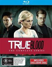 TRUE BLOOD SERIES COMPLETE SEASONS 1, 2, 3, 4, 5, 6 & 7 blu ray BOX SET 1 - 7 RB
