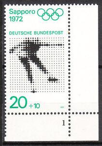 BRD 1971 Mi. Nr. 681 Postfrisch Eckrand 4 Formnummer 1 TOP!!! (9715)