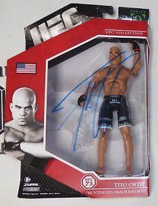 Tito Ortiz Signed UFC 73 Action Figure PSA/DNA COA Series 9 Auto vs Rashad Evans