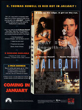 JAILBAIT__Original 1993 Trade AD movie promo__RENEE HUMPHREY__C. THOMAS HOWELL