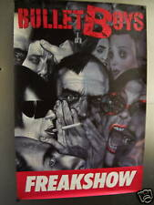 BULLET BOYS Huge Rare 1991 PROMO POSTER Freak Show MINT
