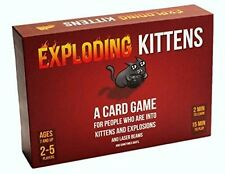 Exploding Kittens and Explosions Card Game Sometimes Goats Games EKG Org1 1