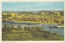 CHICOUTIMI Quebec Canada 1940s PECO Postcard