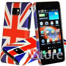 Cover Custodia Per Samsung Galaxy S2 Plus i905 S2 i9100 Bandiera UK Inghilterra