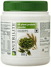 Amway Nutrilite All Plant Protein Powder - 500 gm, (Free shipping worldwide)