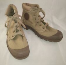 Lace-ups Canvas Boots for Men