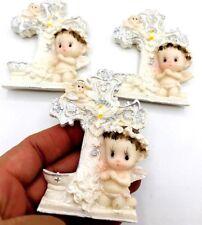 12-Communion Favors Baptism Favors Recuerdos De bautizo Magnets WITH WHITE BAG