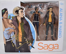 Saga Alana Marko Action Figure Skybound 2 Pack Image Signed Brian K Vaughan