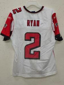 Reebok Women's NFL Jersey Atlanta Falcons Matt Ryan White sz 2XL