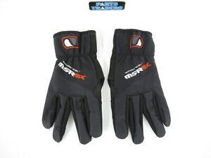 MSR MX Windbreak Gloves Black LG ADV Trail Riding Enduro Cold Weather Motocross