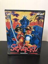 SNK Neo Geo SENGOKU boxed Manual Working AES