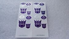 Ocean Metal Decepticon  Logo Decal  for MP11,In stock