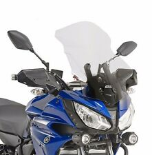 YAMAHA MT-07 TRACER SCREEN GIVI D2130ST CLEAR 17 cm TALLER Windscreen Windshield