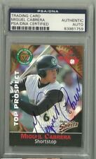 2003 Kane County Cougars MIGUEL CABRERA Signed Card PSA SLAB coa AUTOGRAPH RC