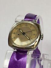 Vintage Art Deco STAYBRITE Watch, Hack Function - 1930's SERVISED
