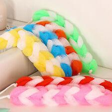 1PC Scrubber Bath Shower Mesh Sponge Exfoliating Body Brush Nylon Puff Spa Hot