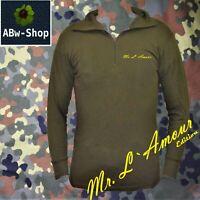 Bundeswehr langarm bw Rolli Shirt /Rollkragen Pullover Langarm  Mr Lamour