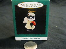 Miniature Hallmark Keepsake Natures Angels Angelic Skunk Flower #5 1994