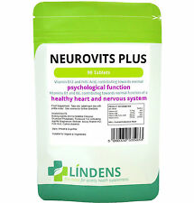 Neurovits Plus (Vitamin B1, B6, B12, Folic Acid) Tablets 90 Tablets Lindens