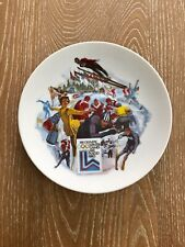 Official 1980 Olympic Winter Games Plate XIII Olympic Winter Games Lake Placid
