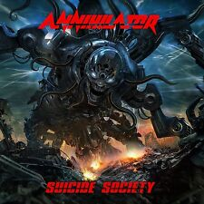 ANNIHILATOR - SUICIDE SOCIETY (DELUXE EDITION)  CD NEU