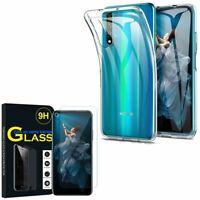 Coque Silicone Gel UltraSlim Huawei Honor 20/ Huawei nova 5T avec Verre Trempé