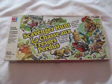 1983 SCAVENGER HUNT MILTON BRADLEY Board Game JEU LA CHASSE AUX TRESORS PERDUS