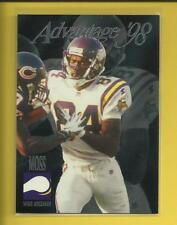 Randy Moss RC 🏈 1998 Collector's Edge Advantage SILVER Rookie Card #196 Vikings