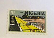 NIGERIA Sc# 306a * MH Eko Bridge postage stamp