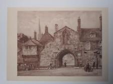 Print St Anne's Gate Salisbury par HS Merritt