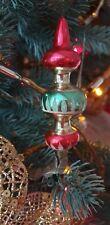 Antique Christmas Tree Decor Ornament Glass Vintage on Clip