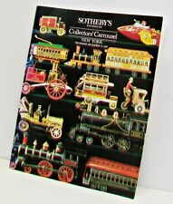 SOTHEBYS Collectors Carousel Auction Catalog 1987 Dolls Dollhouses Toys Automata