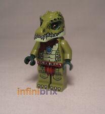 Lego Crawley from set 70001, 70005 + 70010 Legends of Chima Crocodile NEW loc013