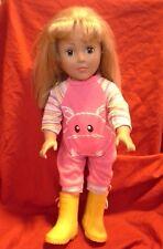 "18"" Madame Alexander Girl Doll w/ Blond Hair & Blue Eyes ( Dressed )"
