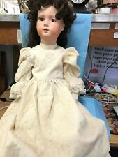 """27"""" Handmade Doll Ooak With Long Hair, Fully Jointed-All Porcelain-Lom"""