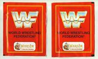 1992 Merlin WWF 2 Packets Wrestling Federation Hulk Hogan